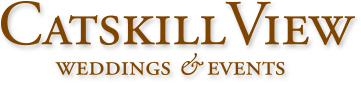Catskill View Wedding and Events logo